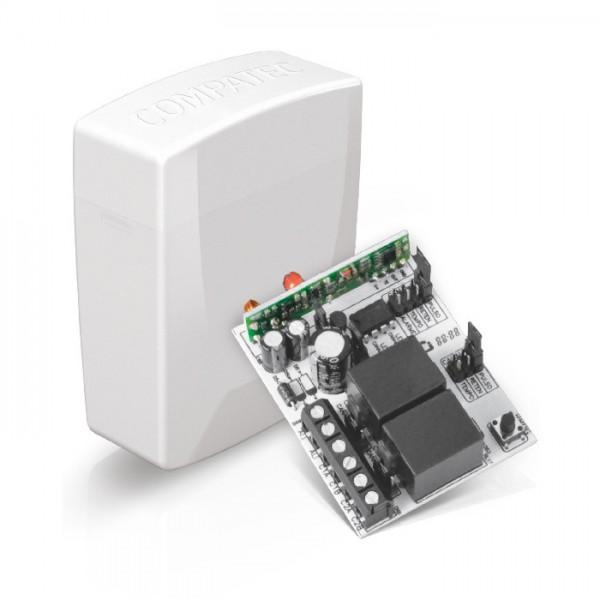 Receptor 2 canais 433Mhz – Compatec