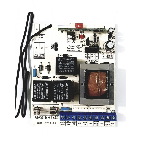 Comando de Portão freq. 433 Mhz - Mastertec