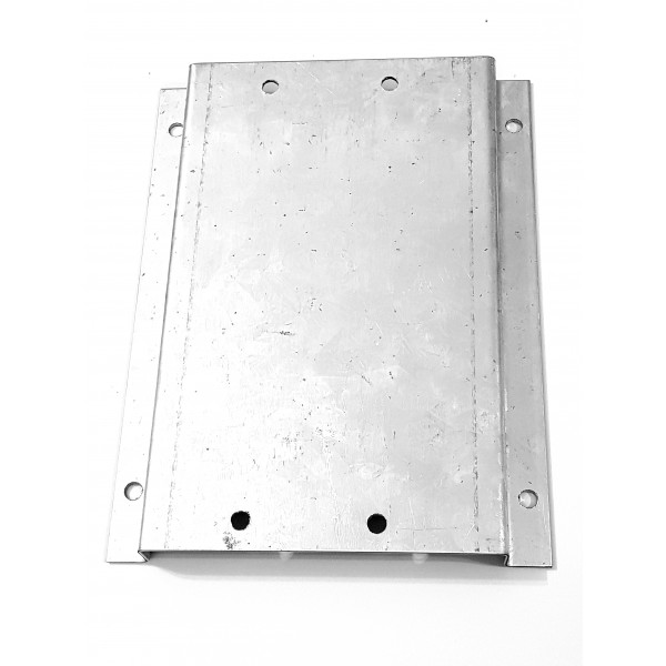 Base Zincada para instalacao movimentador portao