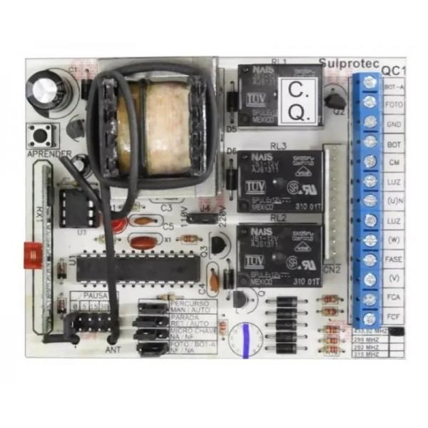 Comando de Portão freq. 433 Mhz - Sulprotec ( com rampa )