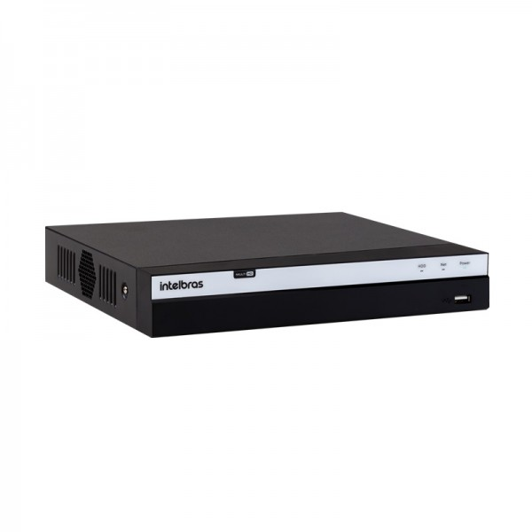 DVR MHDX-3104 Intelbras  4 canais 4MP Lite-Multi HD Serie 3000