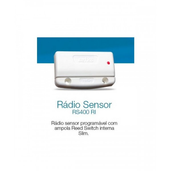 Sensor magnetico sem fio FKS RS400-RI + ima