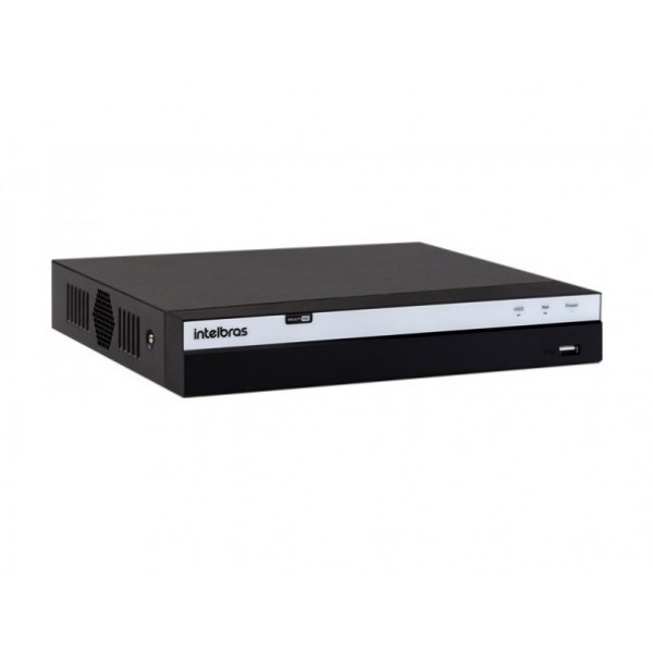 DVR MHDX-5208 Intelbras  8 canais 4K Multi HD Serie 5000
