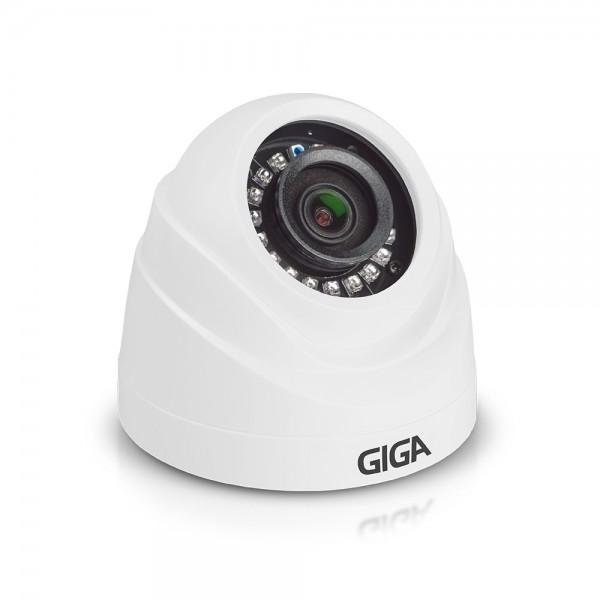 Camera Dome HD Serie Orion 720P IR-20 metros 1/4 2.6mm - Giga